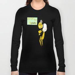 Defeat the Beenary Long Sleeve T-shirt