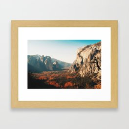 Vibes of the Valley Framed Art Print