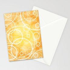 Hard Line Bokeh Stationery Cards