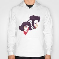 lovers Hoodies featuring Lovers by Ralph Moreau