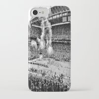 seahawks iPhone & iPod Cases featuring Seattle Seahawks, CenturyLink Field by SefoG