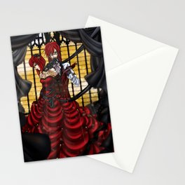 Madame Red Stationery Cards