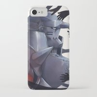 fullmetal iPhone & iPod Cases featuring FMA Ed & Al by x3uu