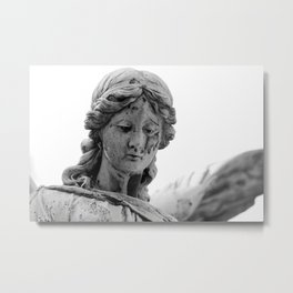 Angel - Photography black & white Metal Print
