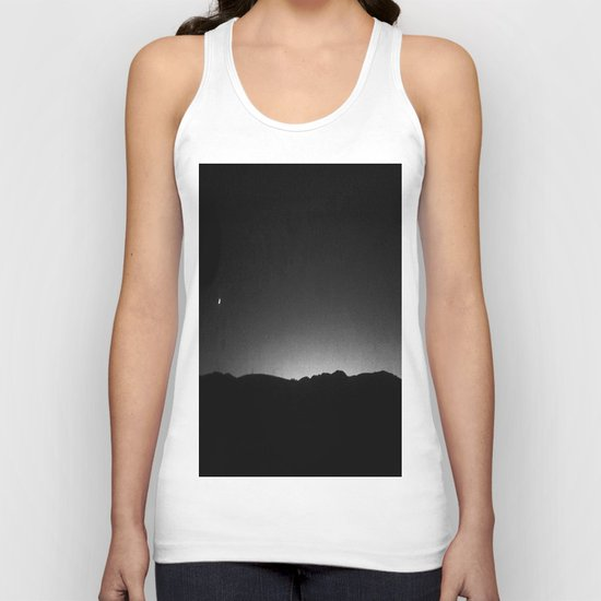 FRENCH LANDSCAPE AT NIGHT  Unisex Tank Top