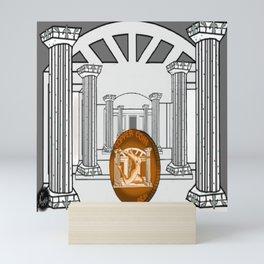 Necropolis Coin Copper 3 Mini Art Print