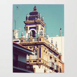 Edificio Seville Spain Poster