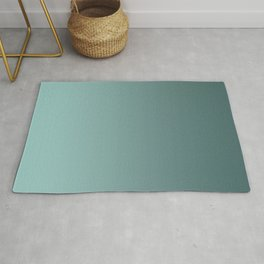 Turquoise Ombre Rug
