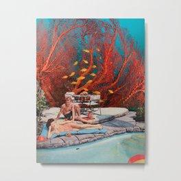 Aquatic love Metal Print