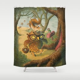 Ode To Beatrix Potter Shower Curtain