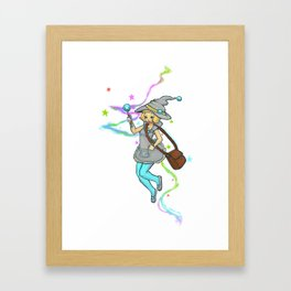 Magical Girl Framed Art Print