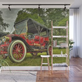 Stanley Steam Car Wall Mural