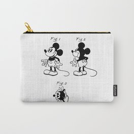 Mickey Mouse Patent drawing Carry-All Pouch