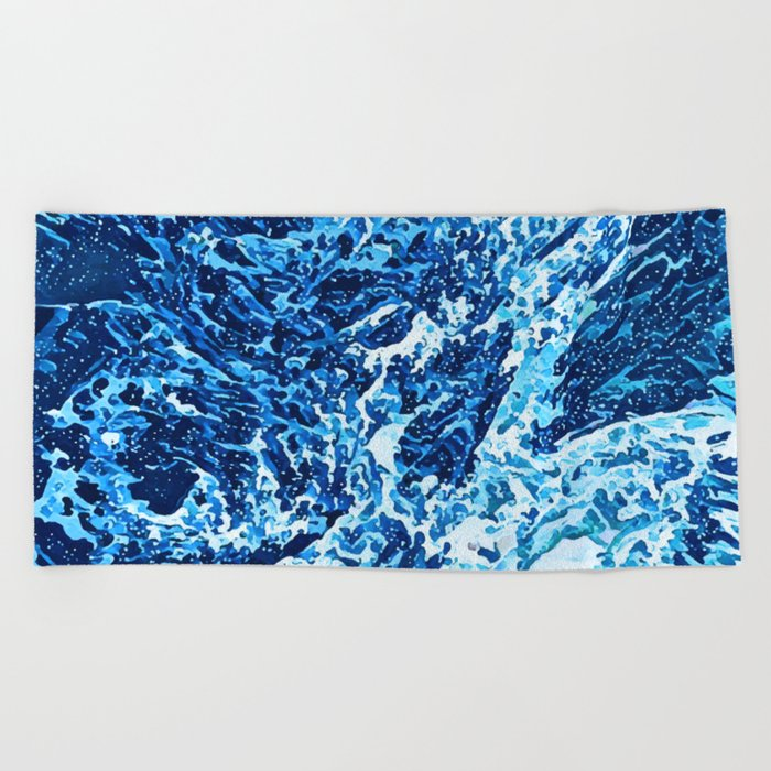 Canagawa Beach Towel