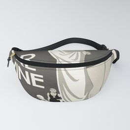 Weston Super Mare oude poster Fanny Pack