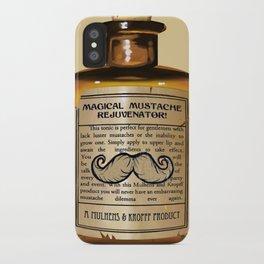 Magical Mustache Rejuvinator iPhone Case