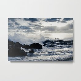 Aloha Paako Beach Beauty Metal Print