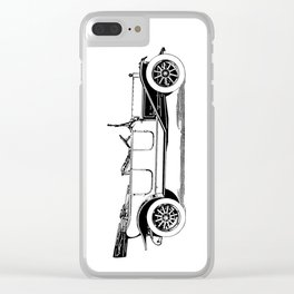 Old car 5 Clear iPhone Case