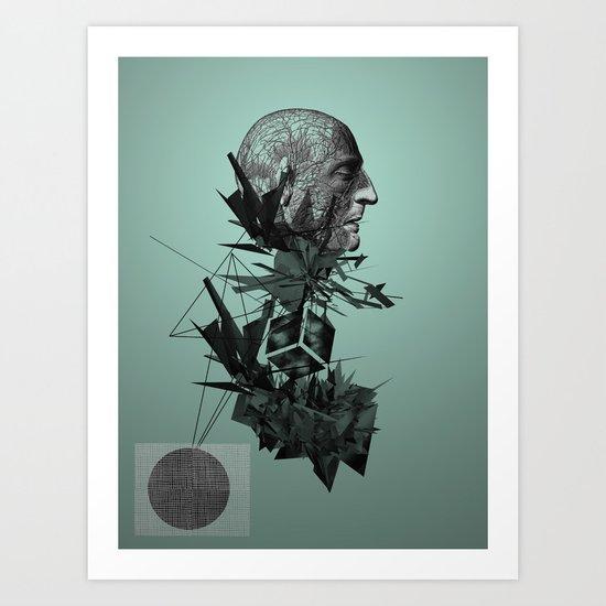 The raindrops Art Print