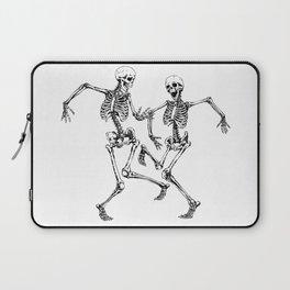 Dancing Skeleton Couple Laptop Sleeve
