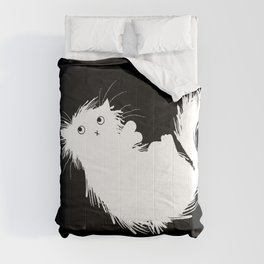 Moggy (No.3) white version Comforters