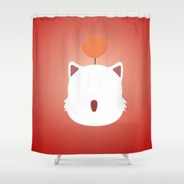 Mog (Moogle) Shower Curtain