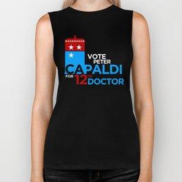 Vote for Capaldi Biker Tank
