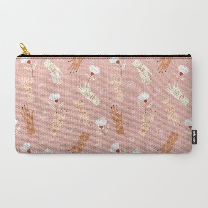 Henna Hands Carry-All Pouch