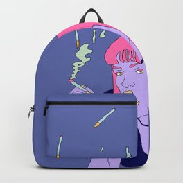 Chilling with a cig Backpack