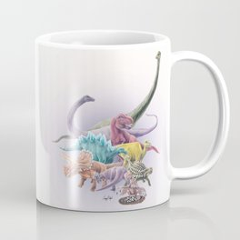 Rainbow Dinosaurs Coffee Mug