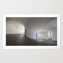 In a White Room Art Print