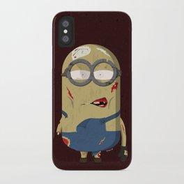Zombie minion iPhone Case