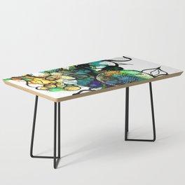 Turquoise Efflourescence Coffee Table