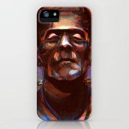Frakenstein's Monster iPhone Case