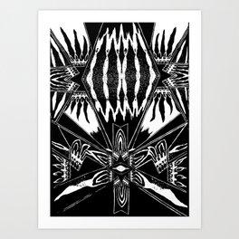 Seed Pattern Art Print