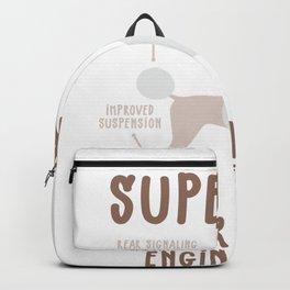 Poodle Lovers Gift Superior German Engineering design Backpack