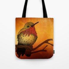The Sunset Bird Tote Bag