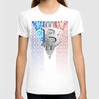 france T-shirts featuring bitcoin france by seb mcnulty