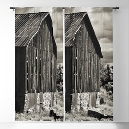 Sepia Barn Blackout Curtain