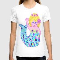 mermaids T-shirts featuring Mermaids by SqueakyAngel