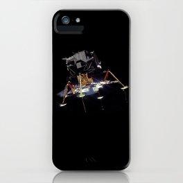 Eagle In Lunar Orbit  iPhone Case
