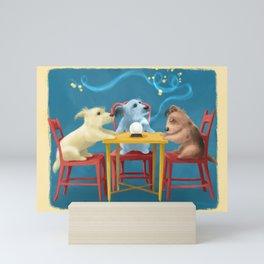 Little Terriers Seance Mini Art Print