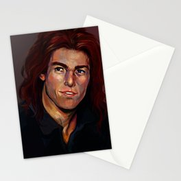 The man made of colors Stationery Cards