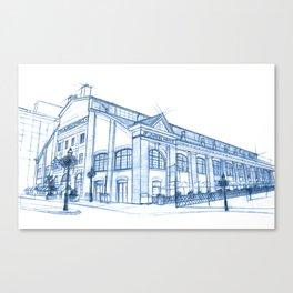 BluePrints | St.Lawrence Market - Toronto Canvas Print