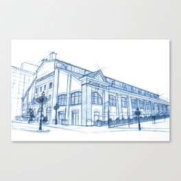 BluePrints | St.Lawrence Market - Toronto Canvas Print