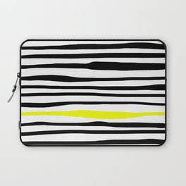 Neon zebra stripes Laptop Sleeve