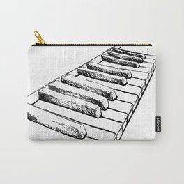 Sketching Pianos Doesn't Make You Better At Piano Carry-All Pouch