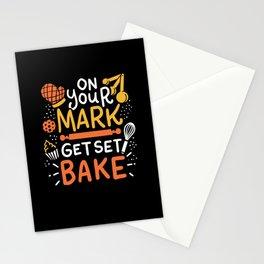 Get Set Bake - Gift Stationery Cards