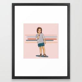 Suckers. Framed Art Print