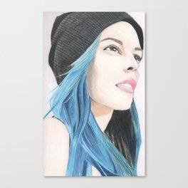 Lauren Calaway portrait Canvas Print